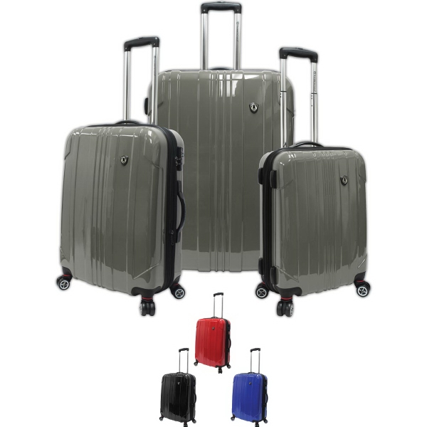 Sedona 3 Pc 100% Polycarbonate Hard Case Set