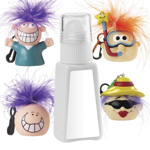 Promotional SPF 30 Suntan Lotion & Lip Balm Combo w/ Goofy Head