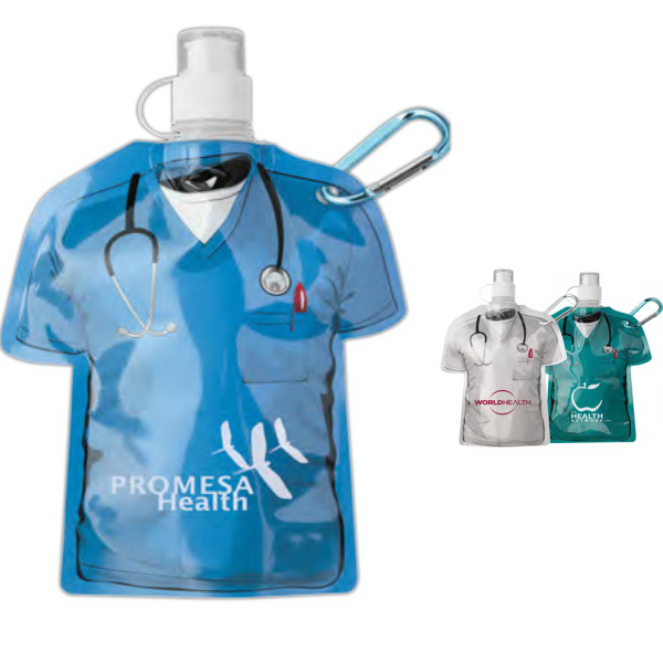 Customized Medical Scrubs Water Bottle