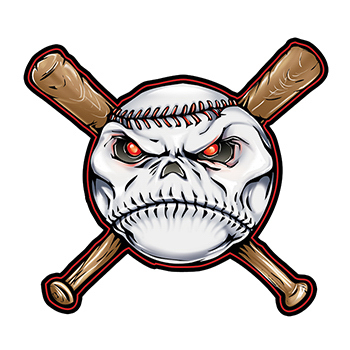 Baseball Temporary Tattoo