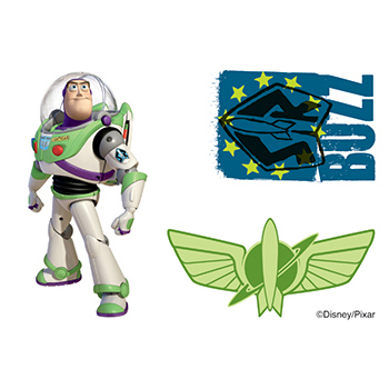 Toy Story: Buzz Lightyear Temporary Tattoos