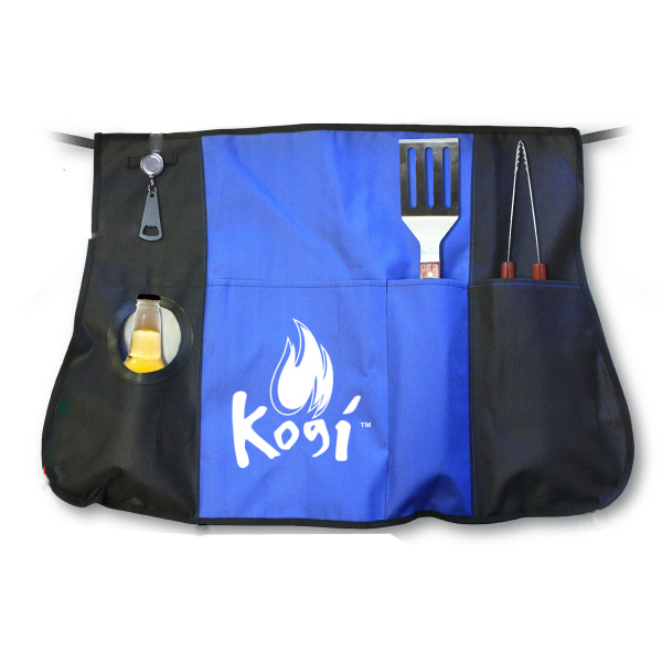 Printed Chef's BBQ Apron Set