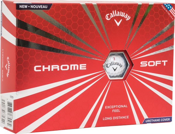 Callaway Hex Chrome Golf Balls (Factory Direct)