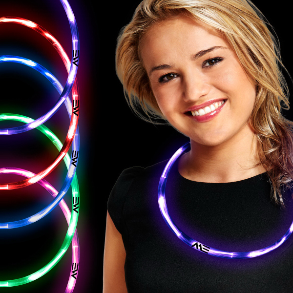 Custom Neon LED Necklaces