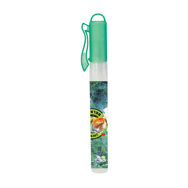 Green Hand Sanitizer Spray Pen - 10 ml.