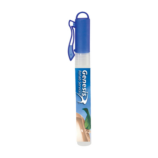Blue Hand Sanitizer Spray Pen - 10 ml.