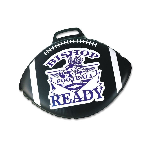 "Football Shape 2"" Thick Stadium Cushion"