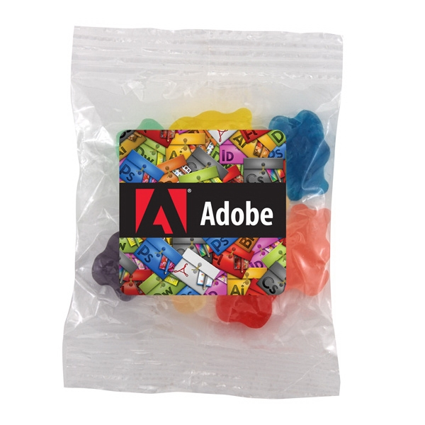 Bountiful Bag with Gummy Bears Candy- Full Color Label