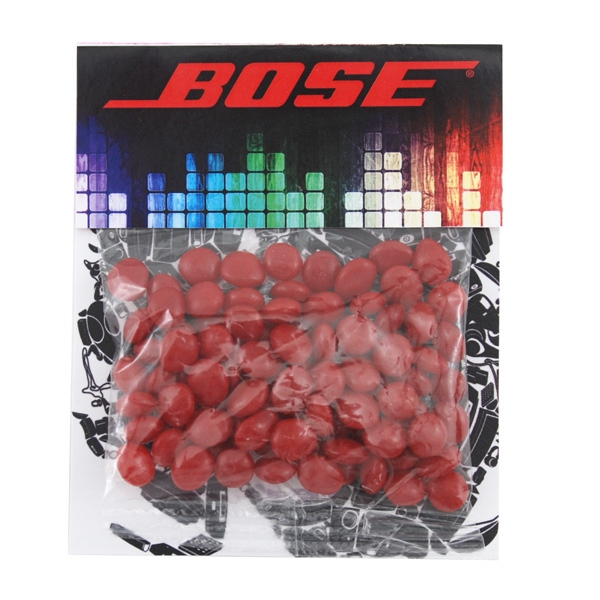 Billboard Full Color Header Candy Bag- with Red Hots