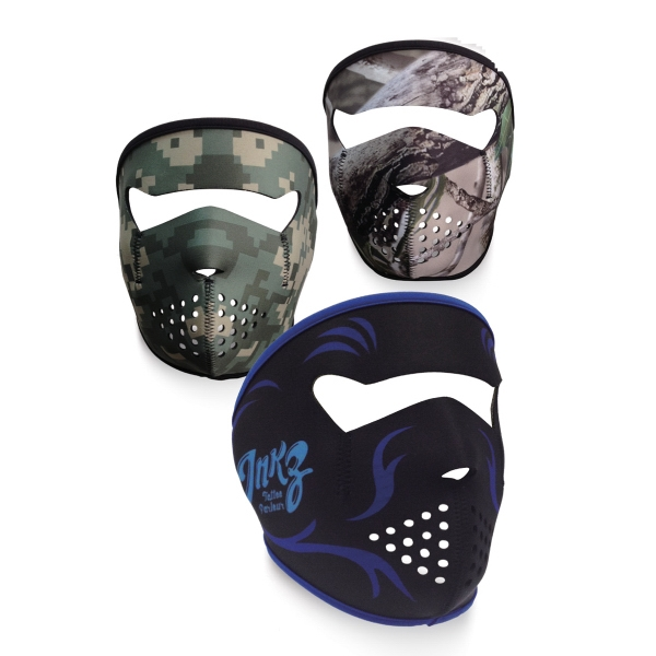 full Color Sublimation Face Mask