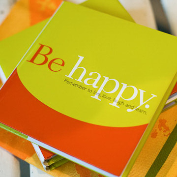 Promotional Gift of Inspiration Series: Be Happy