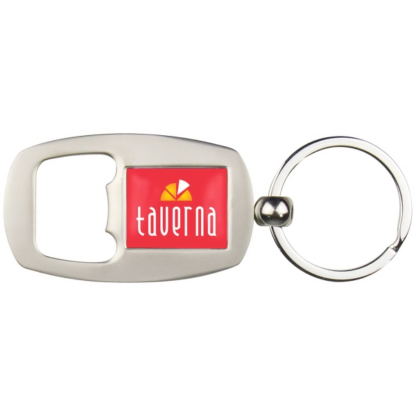 PhotoVision Premium Bottle Opener Key Ring