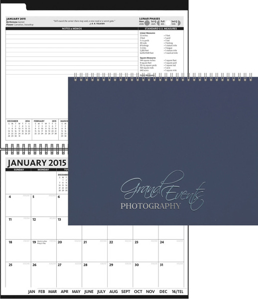 2016 President (TM) - HardCover Monthly Planner