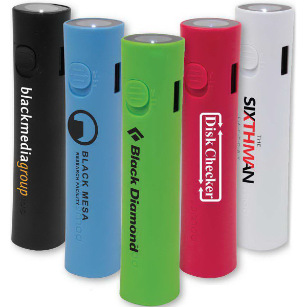 2200mAh Flashlight Power Bank