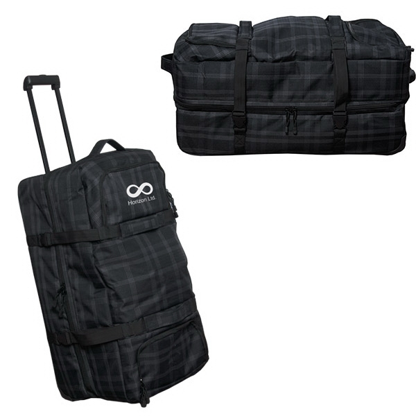 """32"""" EXTRA LARGE PLAID ROLLER DUFFLE"""