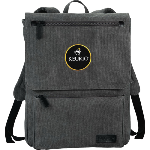 Kenneth Cole Canvas Compu-Backpack