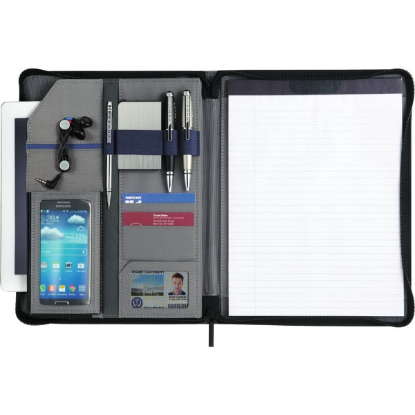 Cross Prime Zippered Padfolio Bundle Set