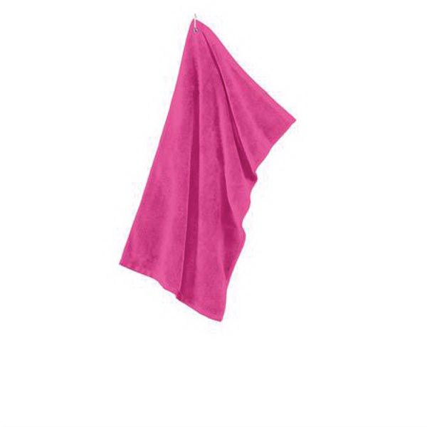 Port Authority (R) Grommeted Microfiber Golf Towel