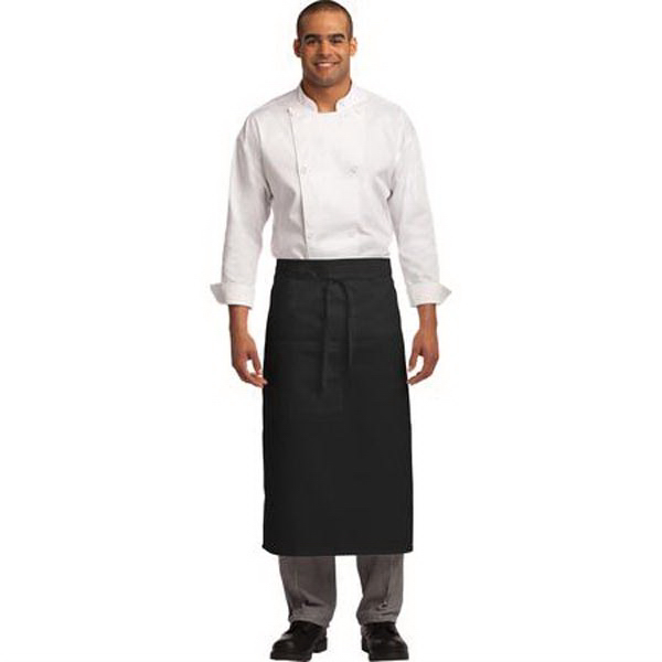 Port Authority Easy Care Full Bistro Apron w/ Stain Release