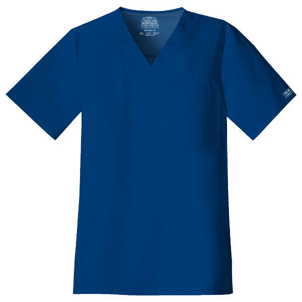 Cherokee Workwear Premium Core Stretch Men's V-Neck Top