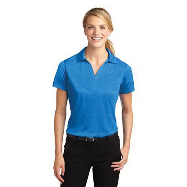 Sport-Tek (R) Ladies' Heather Contender (TM) Polo