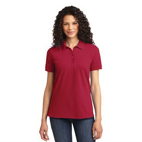 Promotional Port & Company (R) Ladies 50/50 Pique Polo