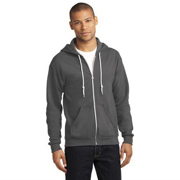 Anvil (R) Full-Zip Hooded Sweatshirt