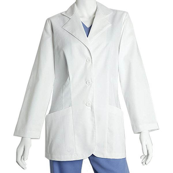 Printed Barco Women's 2 Pocket Lab Coat