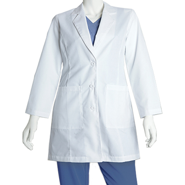Barco Women's 2 Pocket Lab Coat