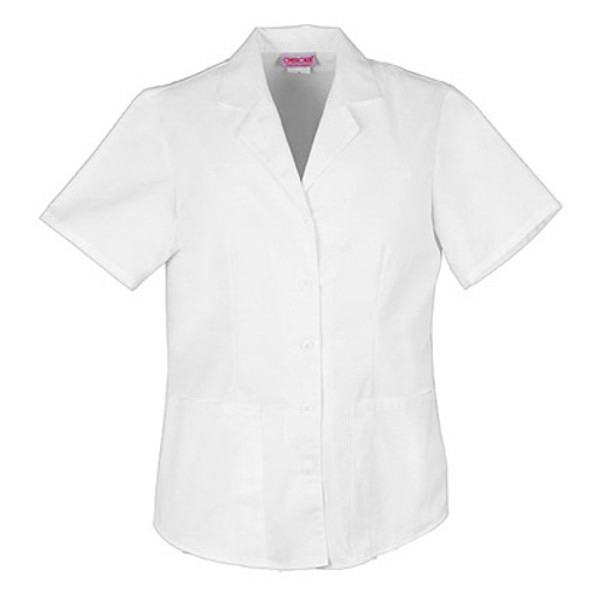 Cherokee Fashion Solids Women's Button Front Top
