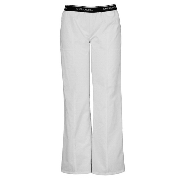 Cherokee Fashion Solids Elastic Logo Waist Pull-On Pant