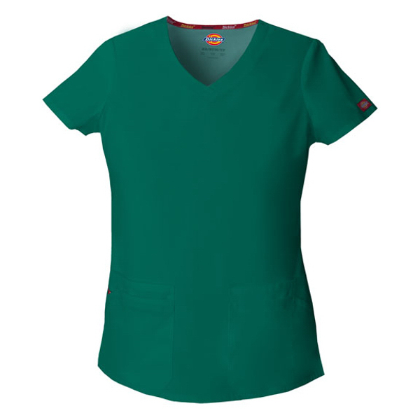 Dickies EDS Junior Fit V-Neck Top