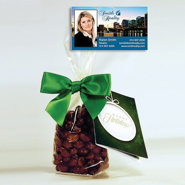 Milk Chocolate Covered Peanuts Gift Bag with Magnet