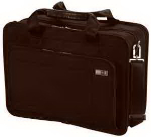 Monticello 15 Expandable Dual Compartment Laptop Brief