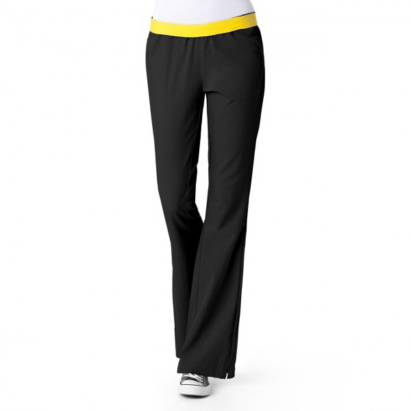 Wink Four-Stretch Flip Flare Leg Pant
