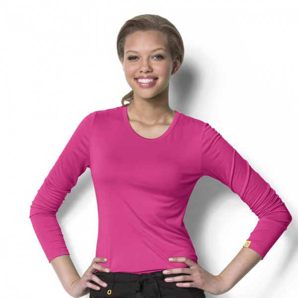 Wink Layers Silky Long Sleeve Tee