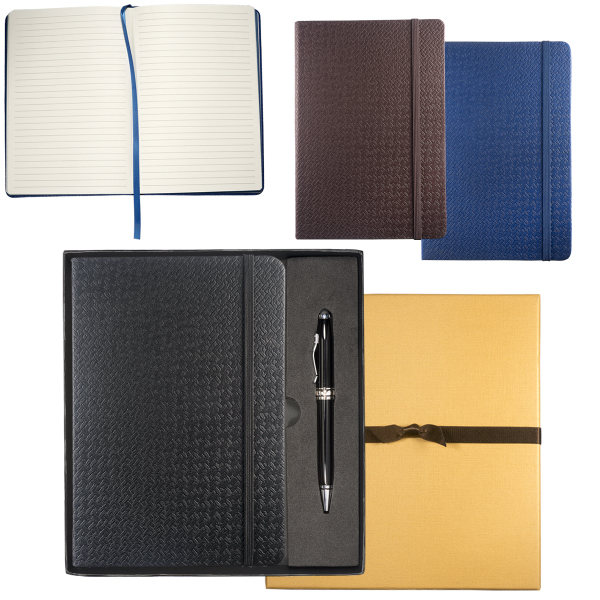 Textured Tuscany (TM) Journal with Executive Stylus Pen Set