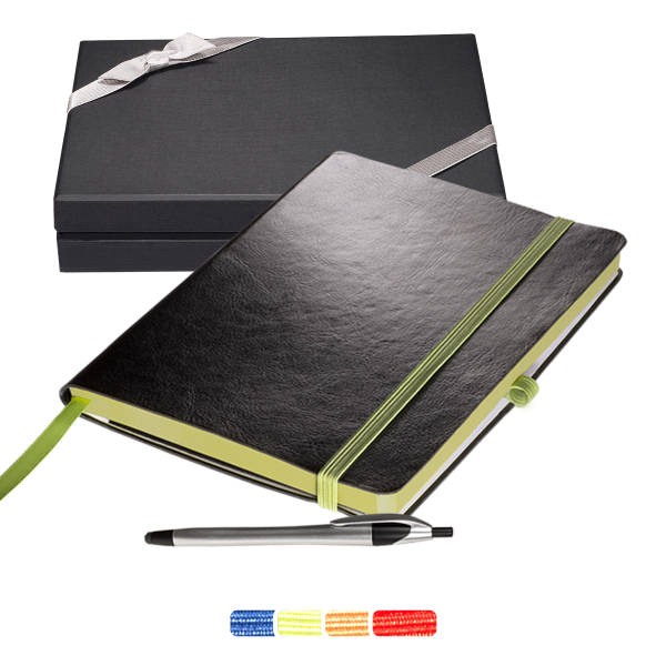 Large Venezia (TM) Journal with Stream Stylus Pen