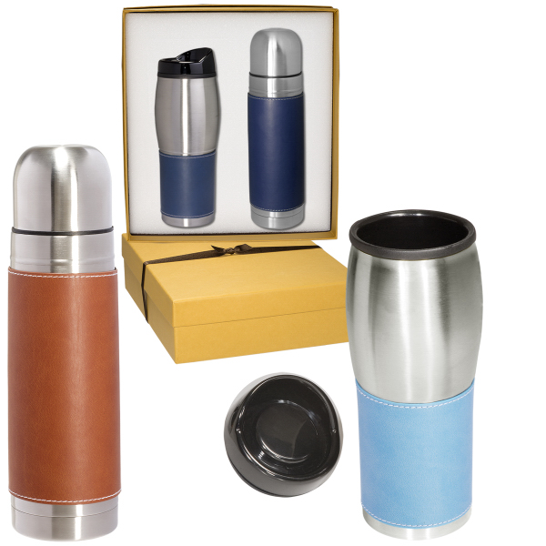 Tuscany (TM) Thermos and Tumbler Set
