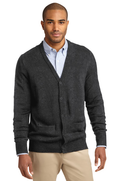 Port Authority (R) Value V-Neck Cardigan with Pockets