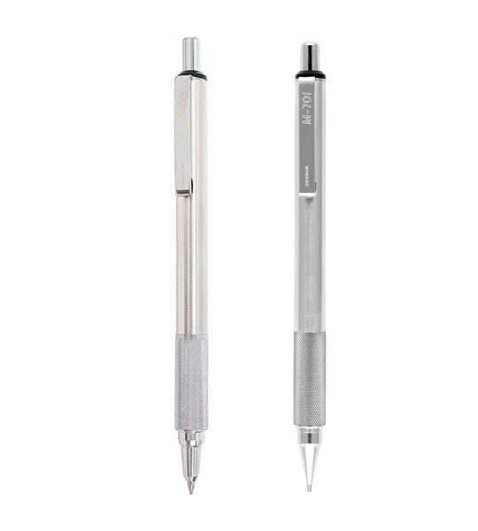 F701 Retractable Ballpoint & M701 Retractable Pencil