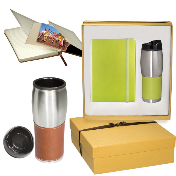 Tuscany (TM) Journal and Tumbler Set