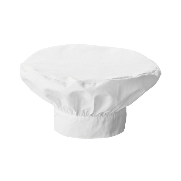 White Swan Men's Chef's Hat