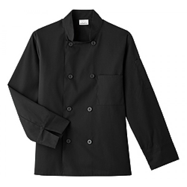 White Swan Men's 8 Button Chef Jacket