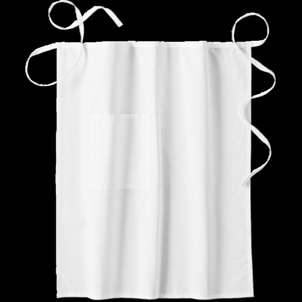 White Swan Men's Long Bistro Apron