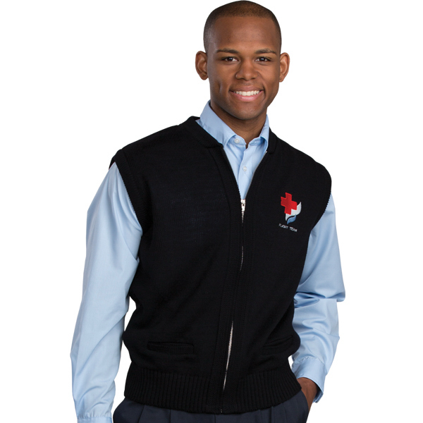 Cardigan Zip Vest with Tuf-Pil (R) Plus
