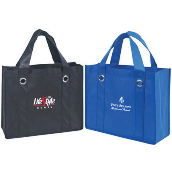 Non-Woven Tote Bag with Ring Reinforcement