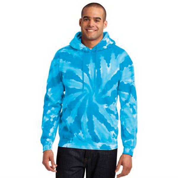 Port & Company (R) Tie-Dye Pullover Hooded Sweatshirt