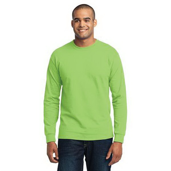 Port & Company  Tall Long Sleeve 50/50 Cotton/Poly T-Shirt