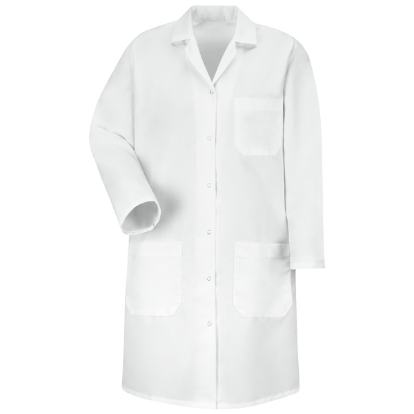 Red Kap Women's Snap Front Lab Coat